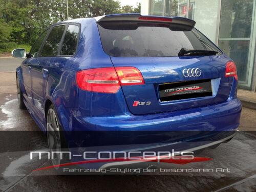 CUP Dachspoiler für Audi A3 8P S3 RS3 Sportback Kombi 5 Spoiler Heckspoiler