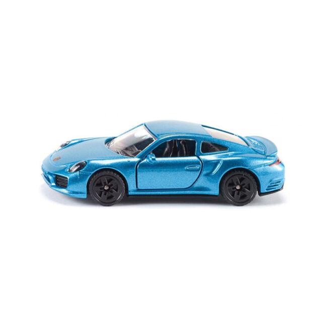 SIKU 1506 PORSCHE 911 Turbo S métallique bleu maquette de voiture (boursouflure)