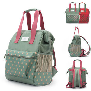 Water-Resistant-Baby-Diaper-Bag-Backpack-Changing-Bag-Nappy-Travel-Bag-Small