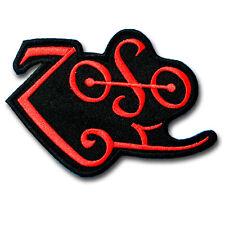 Zoso Led Zeppelin Patch Iron on Biker Rock Band Logo Rider Heavy Metal Music Sew