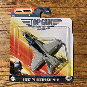 Matchbox 2020 Sky Busters TOP GUN MAVERICK Boeing F//A-18 Super Hornet HERO 3//15