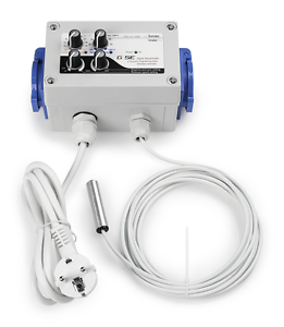 und Abluftluft und Luftfeuchtigkeit GSE digitaler Klimacontroller für Zu