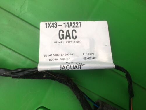 Jaguar Boot lid Wire Loom 1X4314A227GAC Type X 2001 09 Saloon livraison gratuite