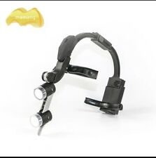 Led Mamang Surgical Headlight Cc Adjust Brightness By Wave Hands Incl 15x Loupe