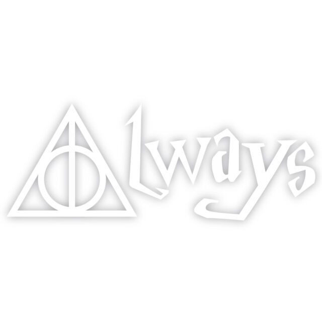LimelightVinyl.com Deathly Hallows Harry Potter Automotive Decal//Bumper Sticker