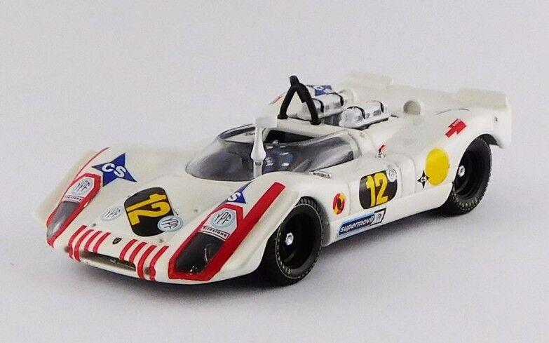 Best MODEL 9686 - Porsche 908 02 1000Km Buenos Aires - 1970 Rindt 1 43