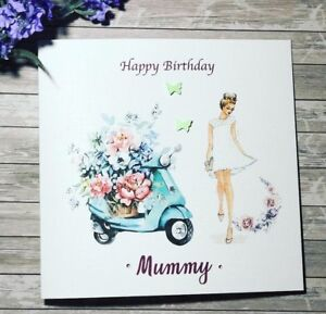 Image Is Loading Handmade 18th 21st 30thBirthday Card Daughter Granddaughter Sister