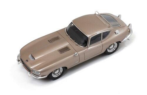 PremiumX 1 43 PR0243 Jaguar E-Type  Loewy  1966 Metallic Champán NEW