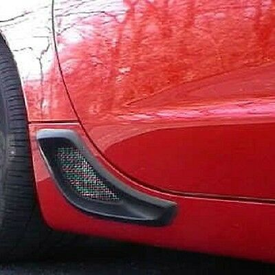 C6 Corvette Cove Side Screen Insert Kit Fits 05 through 13 Base Coupe or Convertible Corvettes