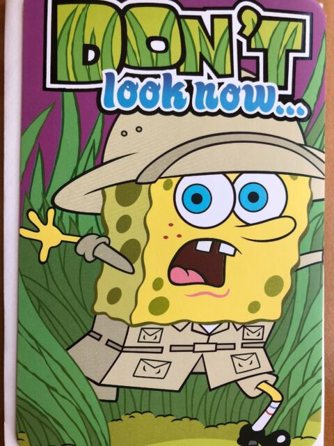 Funny Humorous SpongeBob Squarepants Birthday Card American Greetings