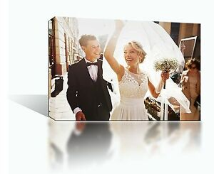 Custom Gallery Wrapped Canvas Print Your Own Photo on Canvas