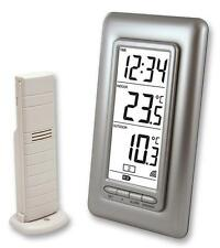 DIGITAL CLOCK AND THERMOMETER Test Temperature, DIGITAL CLOCK AND THERMOMETER