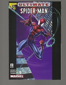 Details about Ultimate Spiderman #1/2 Wizard With Certificate Of  Authenticity
