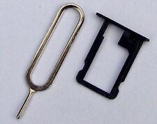 Sim Karten Halter für iPhone 5 5S Nadel Card Holder Tray Halterung in schwarz