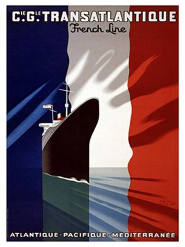 "Art France Travel Poster French Vintage Rare Hot New Original 12x16/"" TR137"