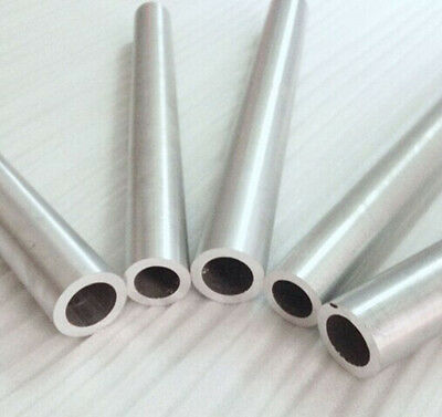 15mm OD 1.0mm Wall Thick Aluminium Round Tube You Choose Various Length x1