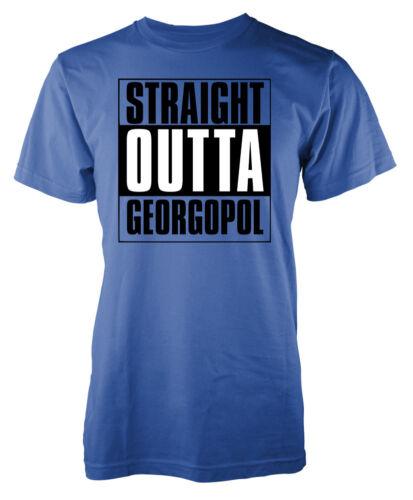 Player Unknown Battleground Straight Outta Georgopol adult Pubg t-shirt
