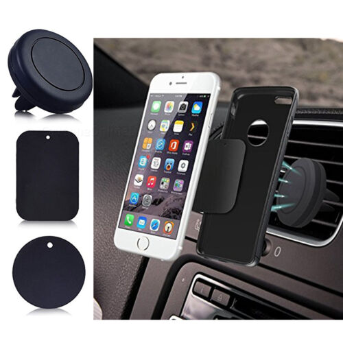 Car Magnetic Air Vent Mount Phone Holder Stand For iPhone 7 8 Plus X XS Max DOT