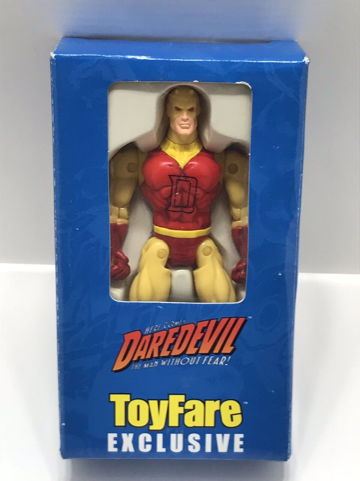 Vintage Toy Fare Exclusive Darotevil Action Figure By Marvel Comics Wizard Group