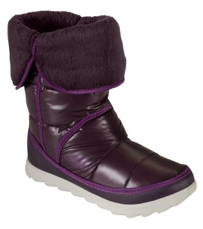 The North Face Bmore II Women's Winter Boots Purple Water Resistant Boots UK 8