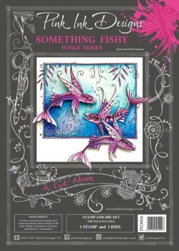A Cut Above FREE UK P/&P Pink Ink Designs Stamp /& Die Sets