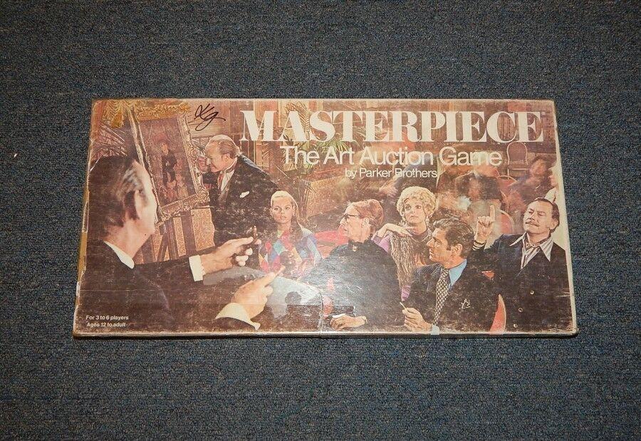 Compra calidad 100% autentica Vintage 1970 1970 1970 Parker Brojohers MASTERPIECE Art Auction Board Juego R14336  diseño simple y generoso