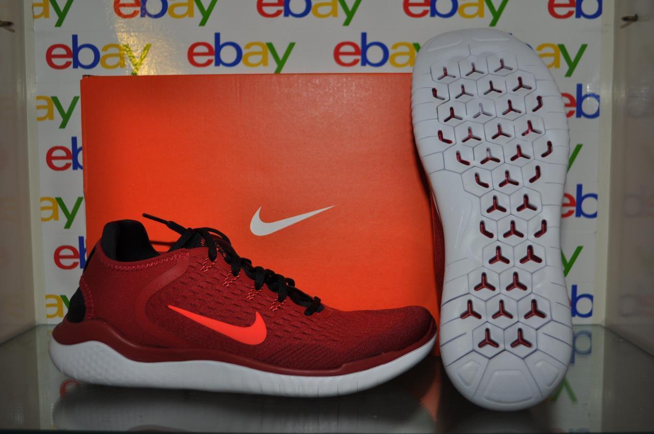 Nike Free Free Free RN 20018 Mens Running shoes 942836 602 Red Black NIB 7f17bb
