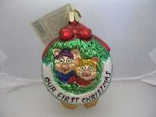 Old World Christmas Togetherness Our First Christmas Ornament  eBay