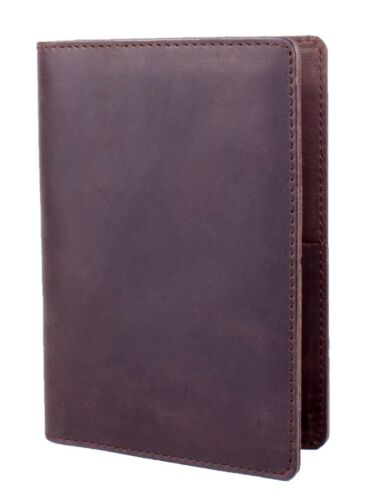 ID HOLDER SOLID LEATHER PASSPORT HOLDER CARD  HOLDER 3 IN 1