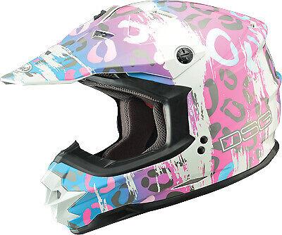 GMAX DSG GM76S Cold Weather Leopard Helmet