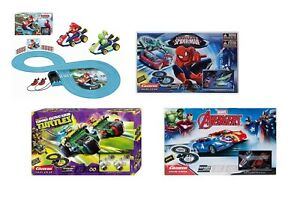 Mario-Spiderman-Turtles-Avengers-Carrera-Racing-System-Track-Toy