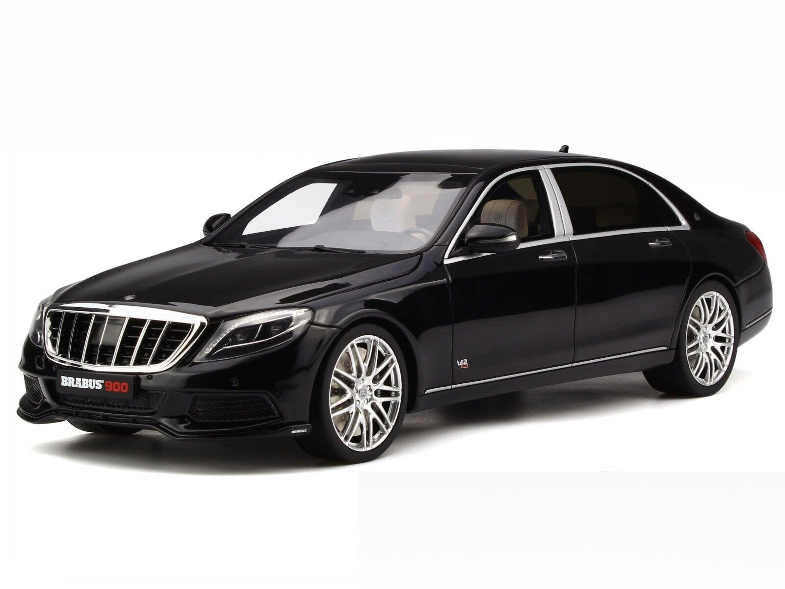 Venta en línea de descuento de fábrica Mercedes X222 Maybach BRABUS 900 900 900 schwa coche en miniatura GT163 GT-Spirit 1 18  de moda