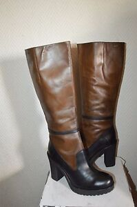 CHAUSSURE-BOTTES-HAUTE-CUIR-DIESEL-TAILLE-41-US-10-BOOTS-BOTAS-STIVALI-NEUF