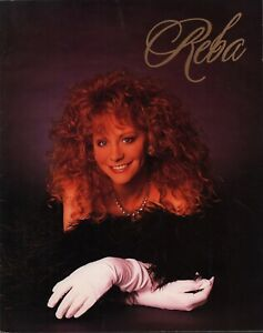 REBA-McENTIRE-1992-IT-039-S-YOUR-CALL-TOUR-CONCERT-PROGRAM-BOOK-BOOKLET-EX-2-NMT