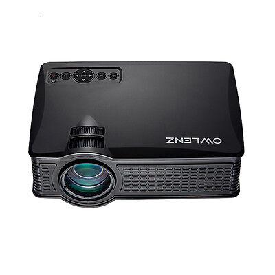 OWLENZ-SD50 Plus LED Mini Projecteur LCD Multimédia Portable Cinéma - NOIR