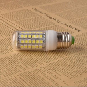 15W Bright E27 69 SMD 5050 LED Spotlight Corn Light Lamp Warm Cool White 220V