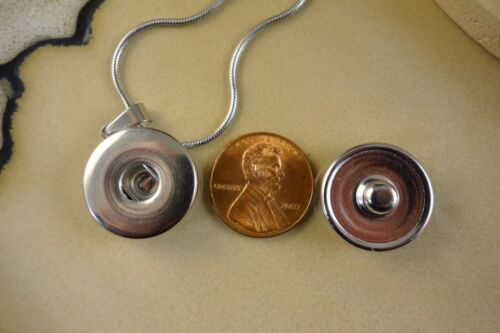 AUBURN TIGERS Basic SNAP BUTTON CHARM PENDANT W//Steel Necklace gifts for women