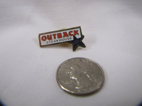 Outback Steakhouse Pin Ace Pin with Star