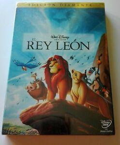 EL-REY-LEoN-DVD-EDICIoN-DIAMANTE-WALT-DISNEY-CONTENIDO-EXTRA-NUEVO
