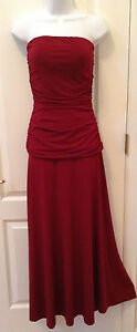 Newport News strapless Bridesmaid Prom Formal Size S