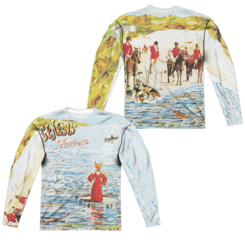 Genesis Rock Band FOXTROT COVER 2-Sided All Over Print Long Sleeve Poly T-Shirt