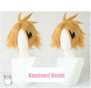 My Boku no Hero Academia Kaminari Denki Cosplay Wig+Lightning Accessory
