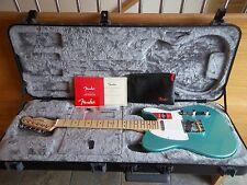2016 Fender American Professional Telecaster Electric Guitar Mystic Seafoam Case