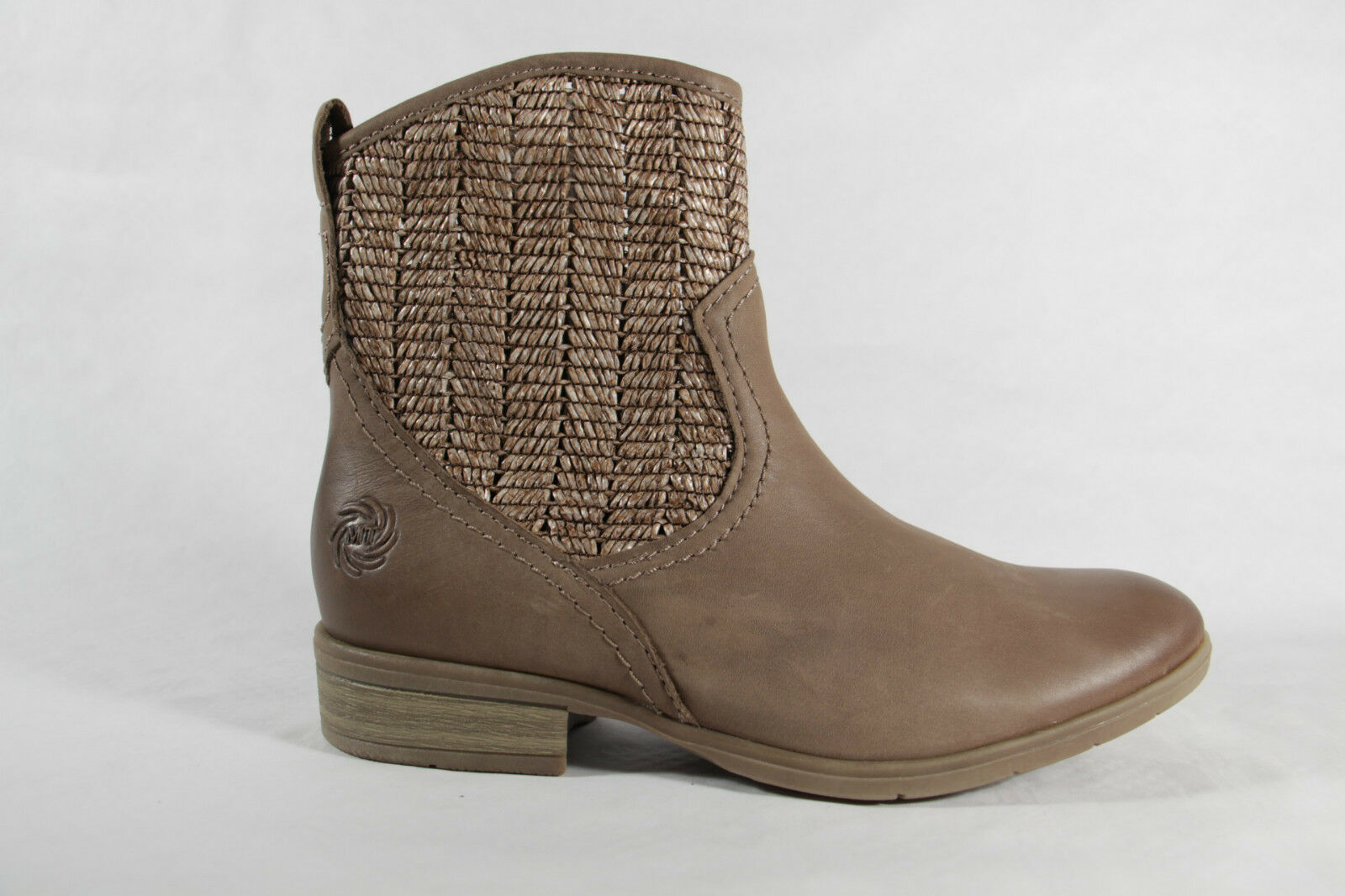 MARCO TOZZI Ankle Boots Beige Fashion Summer Boots Leather RV NEW