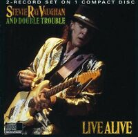 Stevie Ray Vaughan - Live Alive [new Cd] on Sale