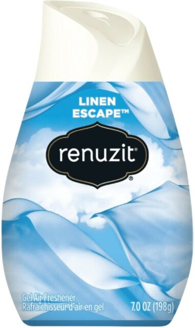 Gel Air Freshener >> Renuzit Gel Air Freshener Snuggle Linen Escape
