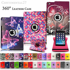 Leather-360-Rotating-Smart-Stand-Case-Cover-For-APPLE-iPad2-3-4-Air1-2-Mini1-2-3