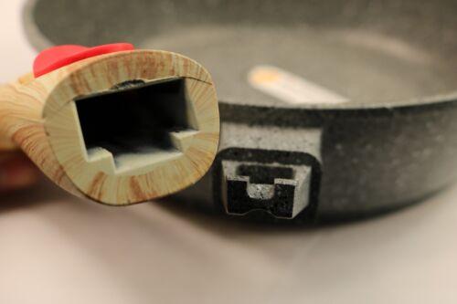 Schmorpfanne  neue und spezielle umweltfreundliche Granit Pfanne ölfreies Braten