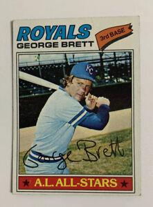 1977-George-Brett-580-Topps-Baseball-Card-Kansas-City-Royals-HOF-KC