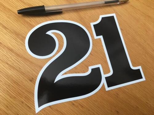 Eddie Lawson Race Number 21 Medium
